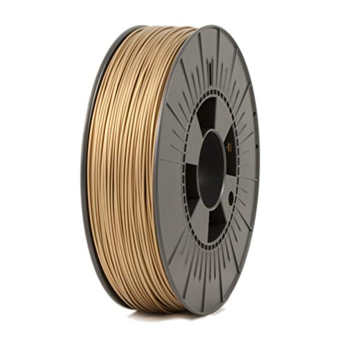 Ice Filaments ICEFIL1PLA107 Filamento Pla, 1.75mm, 0.75 kg, Groovy Gold