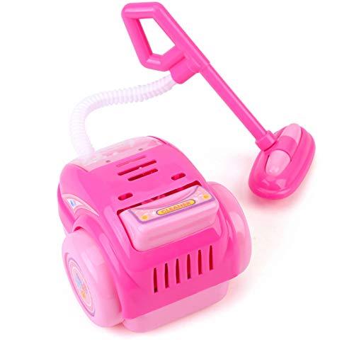 Wosune Mini aspiradora, Juguete para aspiradora para bebés, eléctrico no tóxico Mini 117g 75x65x90mm Plástico para Juegos Entre Padres e Hijos Juego de Roles Juego de simulación