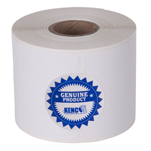 2 1/4in X 4in Name Badge Labels 250 Per Roll by Kenco Label, Compatible with Dymo 1760756 (1 Pack) (1 Pack)