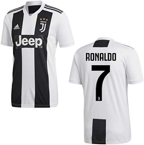 Adidas Camiseta Ronaldo 7 Juventus FC 1ª Equipación 2018/2019 Adultos y Niños