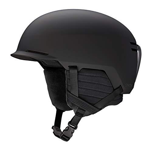 Smith Optics 2019 Scout Adult Snowboarding Helmets (Matte Black, Medium 55-59cm)