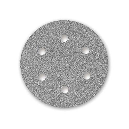 MENZER Platinum Klett-Schleifscheiben, 225 mm, 6-Loch, Korn 100, f. Trockenbauschleifer, Halbedelkorund (25 Stk.)
