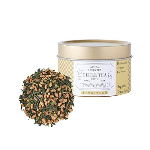 Bio-Genmai Cha Loser Tee von CHILL TEA Tokyo - 100% Bio-Grüner Tee mit Braunem Reis - Reich an Vitaminen, Ballaststoffen & Aminosäuren - (30g)