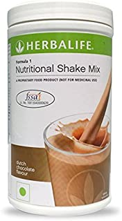 Herbalife Formula 1 Shake Mix 500 Grams - Chocolate Flavor; Healthy F1 Nutritional Meal Replacement Protein Powder Diet - ...