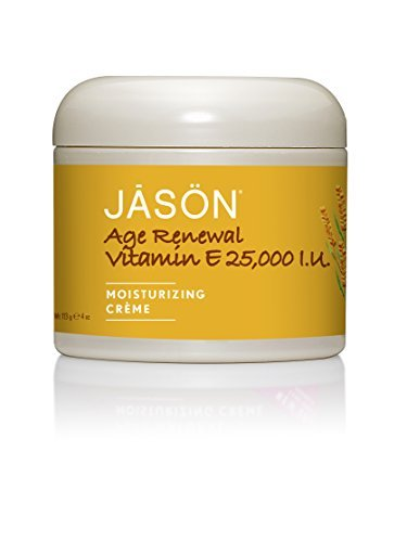 JASON Age Renewal Vitamin E Crme 25,000 IU, 4 Ounce by Jason Natural
