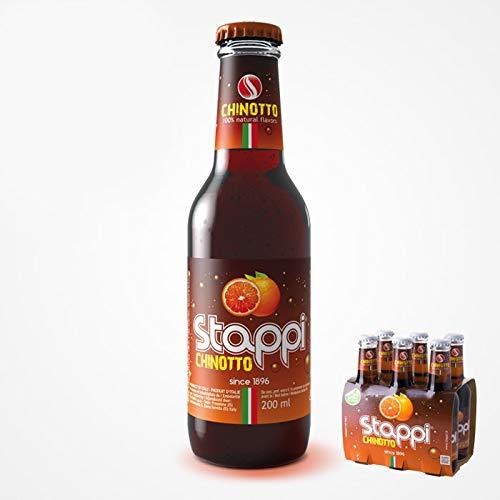 STAPPI Chinotto - Bevanda Analcolica da 200 ml - Confezione da 24