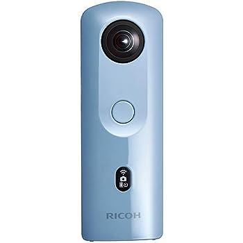 RICOH 360度カメラ RICOH THETA SC2 ブルー 全天球カメラ リコー シータ 10803