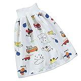 Manyao - Falda de pañal para bebé, pañales antifugas, lavables para bebé, algodón, braga de aprendizaje para niños y niñas coche M:0-24 meses