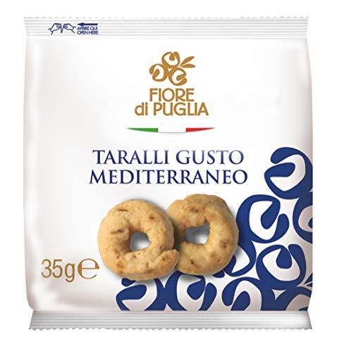 Fiore di Puglia Tricioli Con Aceite De Oliva Meriendas 40-Piezas 1400 g