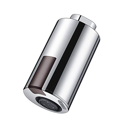 MOSINITTY Intelligenter Wasserhahn, USB-Ladegerät, wassersparender Sensor, berührungsloser automatischer Wasserhahn, Infrarot-Sensor-Adapter für Küche, Badezimmer Restaurant Schulen