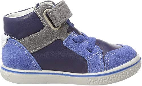 RICOSTA Jungen Benni Hohe Sneaker, Blau (Nautic/Azur), 20 EU