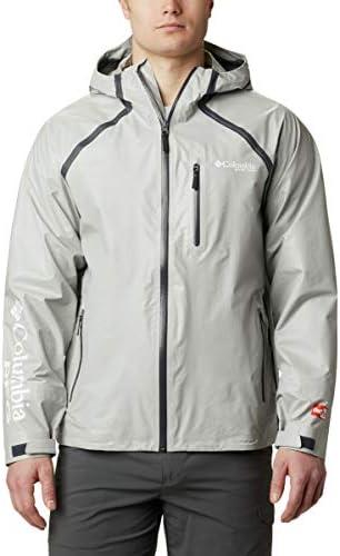 Columbia Men s PFG Terminal ODX Jacket Varsity Grey Medium product image