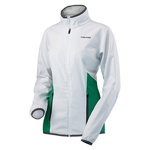 HEAD Club Veste pour Femme, WHGC white club green, m