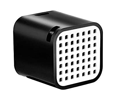 Juice Nano Square Portable Bluetooth Speaker, Wireless Rechargeable Device for PC, Desktop, Laptop, Tablet, Smartphone, Travel, Black by Gusto Telecom Solutions Ltd