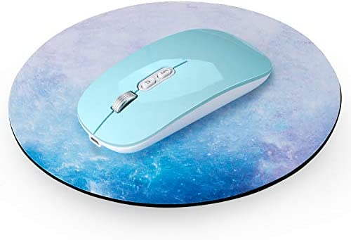 TENMOS T8 Wireless Mouse and Mouse Pad 2 4G Silent Rechargeable Wireless Computer Mice with product image