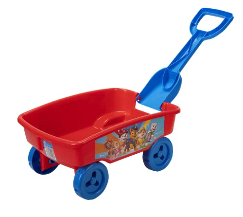 Paw Patrol Wagon with Detachable Shovel, Perfect Toy for Park, Beach, Or Anywhere!
