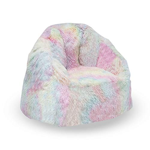 Delta Children Snuggle Foam Filled Chair, Kid Size (for Kids Up to 10 Year Old), Tie Dye