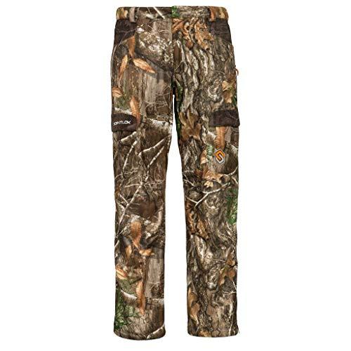 ScentLok Men's Full Season TAKTIX Hunting Pants, Realtree Edge, L
