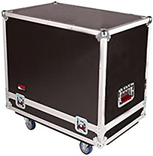 Gator Cases G-TOUR Series ATA Style Road Case for (2) QSC K10 Speaker Cabinets with Cable Storage and Heavy Duty 4