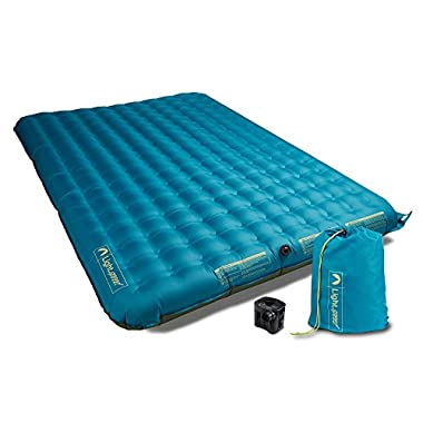 Lightspeed Outdoors 2 Person PVC-Free Air Bed Mattress (Ocean Depth)