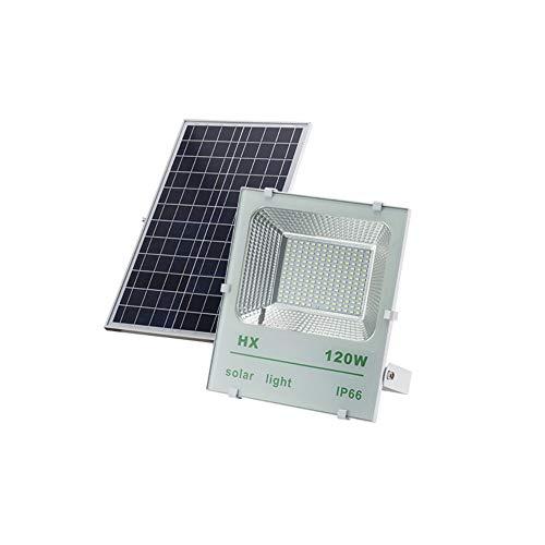 Popertr 120W Solar luz de inundación de la lámpara LED Super Brillante Perlas IP66 a...