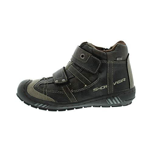 s.Oliver Schuhe für Jungen Boots Black Mocca 554641323033 (33 EU)