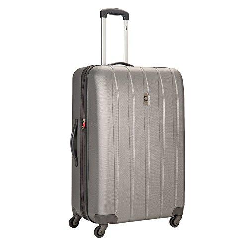 Delsey Luggage Volume DLX Hardside 29-Inch Expandable Spinner Luggage (Platnium)