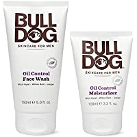 2-Count Bulldog Mens Skincare and Grooming Oil Control Starter Kit