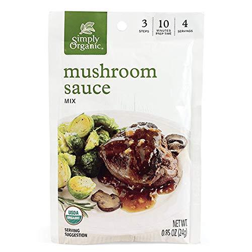 Simply Organic Mushroom Sauce Mix Certified Branded Portland Mall goods Vegetarian