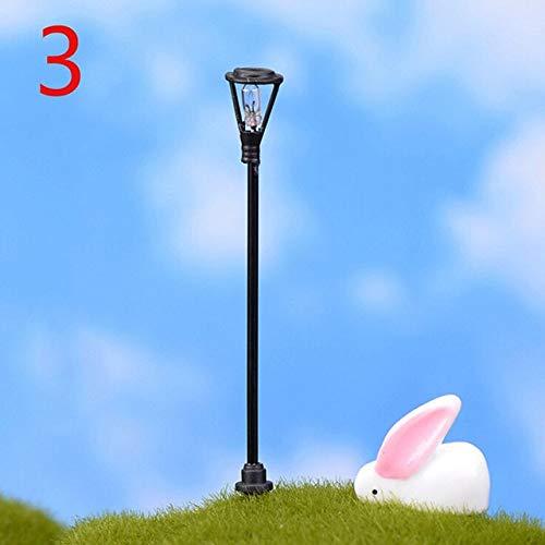 GBB 1 pz Mini lampione Giardino Miniature Muschio Desktop Decorazione del Giardino per la casa3