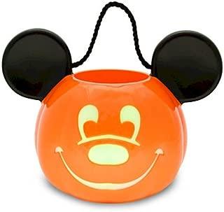 Disney Light-Up Jack O'Lantern Mickey Mouse Trick or Treat Bucket