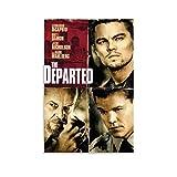 YJTY The Departed Filmposter, Leonardo DiCaprio & Matt