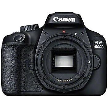 Canon EOS 4000D Cuerpo de la cámara SLR 18 MP 5184 x 3456 Pixeles ...