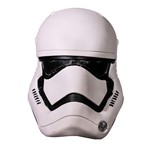 Attrezzature Fun Film Intorno a Star Wars White Soldier PVC Helmet Cosplay Halloween Dress Up Mask