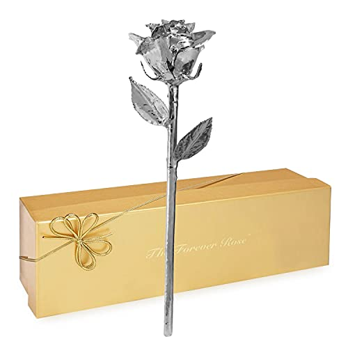 Forever Rose Real 24K Gold Rose, Genuine One of a Kind Rose Hand Dipped in 24K Gold to Last a...