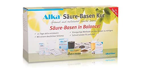 Alka® Säure-Basen Kur (21-Tage Kur mit 5 Alka® Produkten zum Entsäuern)