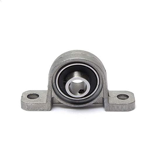 Rodamientos de Block, 2pcs / 10pcs aleación de zinc Diámetro 8 mm 10 mm 12 mm 17 mm diámetro interior del rodamiento de bola Almohada montado en el bloque textuales, KP08 KP000 KP001 kp003 kp005 kp006
