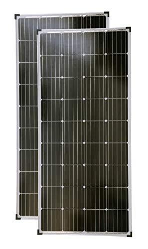 solartronics Solarmodule 2 Stück 160 Watt Mono Solarpanel Solarzelle...