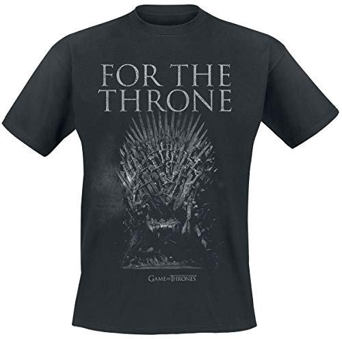 Game of Thrones for The Throne T-Shirt Manches Courtes Noir S