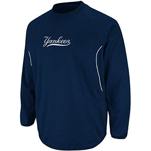 ed9c60056 Amazon.com   Majestic New York Yankees Authentic Therma Base Tech Fleece  Big   Tall Sizes (2XT)   Clothing