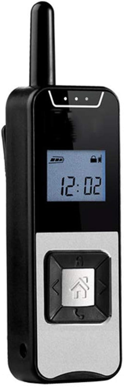 Walkie-Talkie Radio Bidirezionale, Display LED Portatile in Miniatura Ultrasottile per Uso Civile, Mini Walkie-Talkie per Salone di Bellezza Dell'calienteel