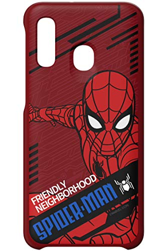 Samsung Galaxy A40 - Friend Cover Marvel, Spider-Man Dynamisch