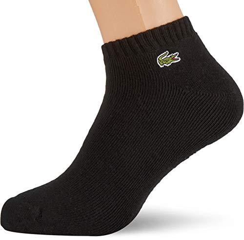 Lacoste Herren RA2061 Socks, Noir/Blanc, 41-46