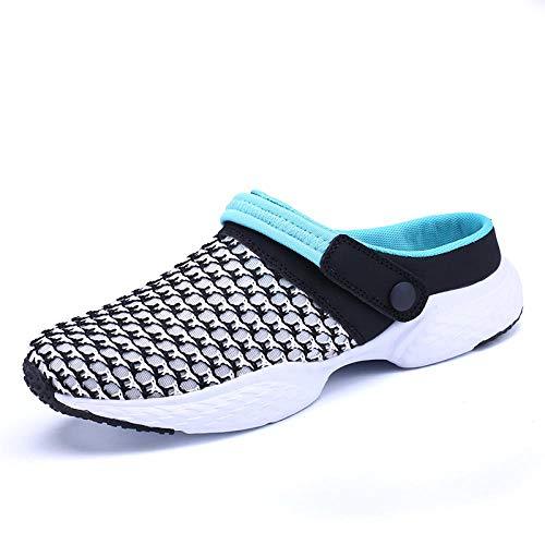 Chanclas Unisex Zapatos De Agujero Sandalias De Palma para Hombres Zapatos con Agujeros Hombre Sandalias De Playa Transpirables para Mujeres 36-44 Zuecos De Jardín Zapatos Dia