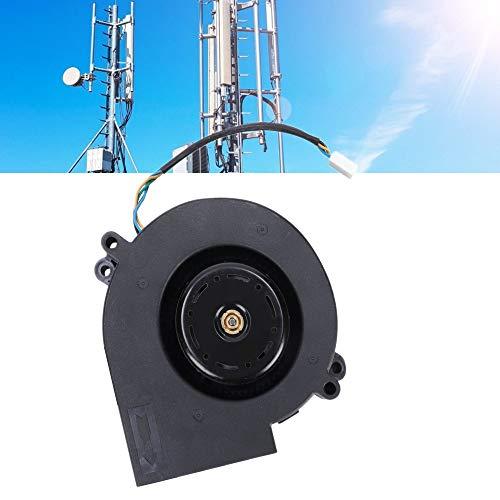 Duokon Ventilador Turbo centrífugo de Doble Bola, 190CFM Ventilador soplador de Aire de Alto Volumen de Viento de plástico para Equipos de calefacción Industrial Picnic Camping Barbacoa 12V 3.8A
