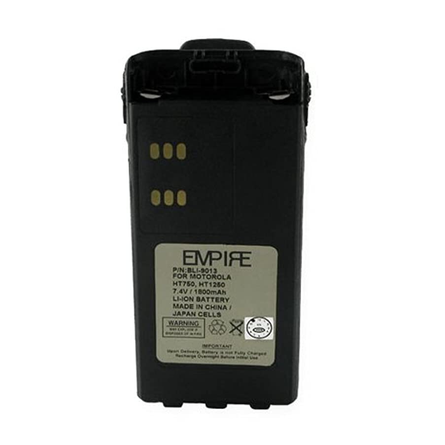 Motorola GP340 2-Way Radio Battery (Li-Ion 7.2V 1800mAh) Rechargeable Battery - Replacement for Motorola HNN9013 Battery