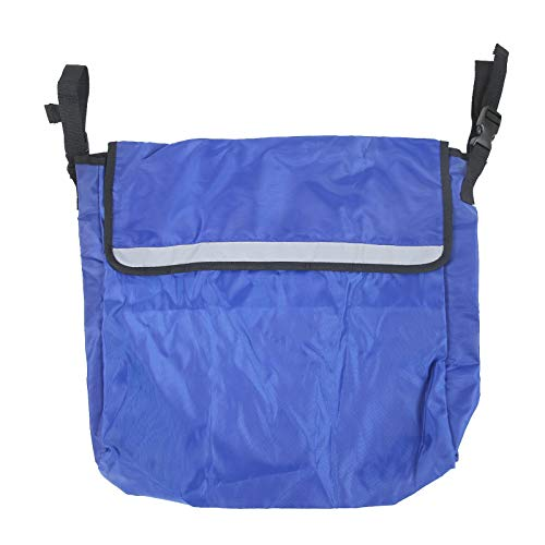 Tomanbery Bolsa de Almacenamiento para Silla de Ruedas Práctica Mochila para Silla de Ruedas para Scooters para Actividades al Aire Libre para Salir(Blue) 🔥