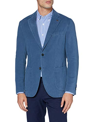 Harmont & Blaine VRE063060485 Blazer Casual, Azul Claro, 54 para Hombre