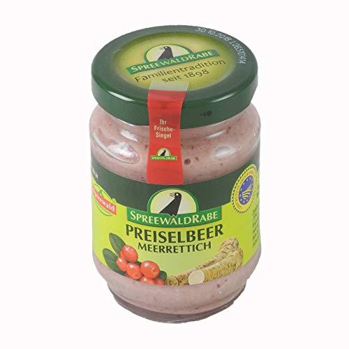 Preiselbeer Meerrettich von Spreewald-Rabe (100 g)