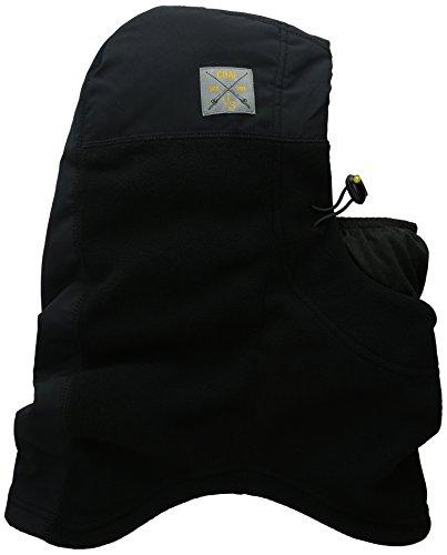 Coal Unisexe - The Fleece Hood Se Cagoule de tempête Noir Taille Unique